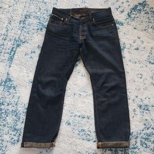 dc12d0bb Nudie Jeans Jeans - Nudie Jeans dry selvage